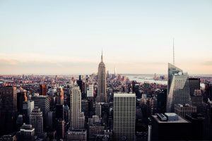 Manhattan overview - 5 boroughs of NYC