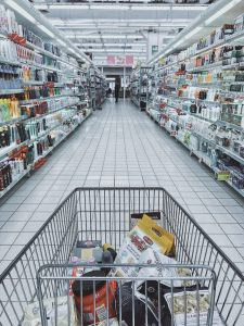 Moving to the suburbs and running away from supermarkets.