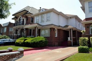 Forest Hills is one of Queens neighborhoods with beautiful houses.