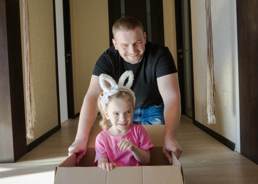 Kids can help you prepare for a move.