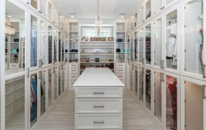 A spacious closet is one of the amenities luxury homebuyers are looking for today.