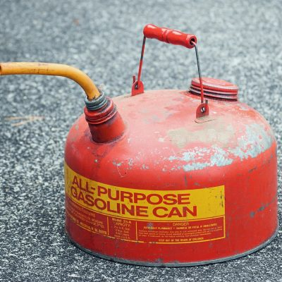Flammable can as something that moving companies won't move.