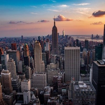 Manhattan Sunset - Top Manhattan neighborhoods to live in in 2020