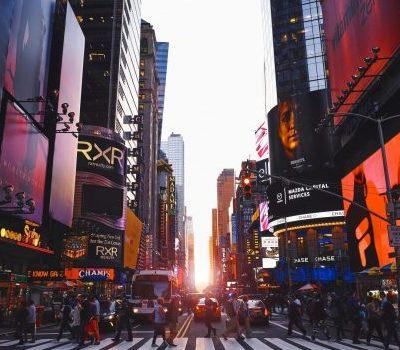 A New York street.
