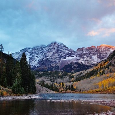 This beautiful sight is one of the reasons for moving from New York to Colorado.