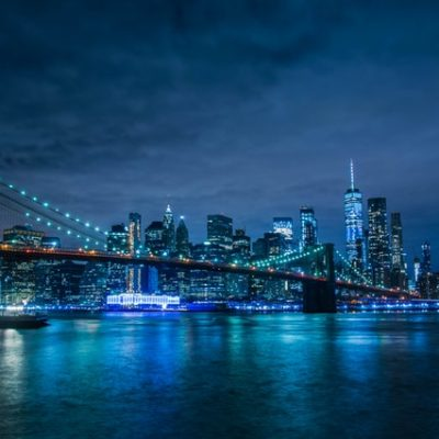 new york queens at night